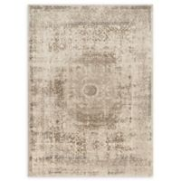 Loloi Rugs Century Medallion 9'3 Round Rug in Taupe/Sand