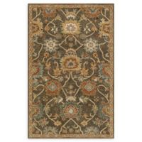 Loloi Rugs Underwood 3'6 x 5'6 Handcrafted Area Rug in Charcoal/Gold