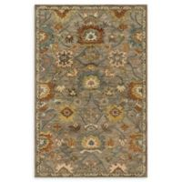 Loloi Rugs Underwood 2'6 x 7'6 Handcrafted Runner in Taupe/Blue