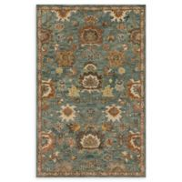 Loloi Rugs Underwood 7'9 x 9'9 Handcrafted Area Rug in Blue/Rust