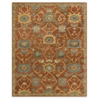 Loloi Rugs Underwood 7'9 x 9'9 Handcrafted Area Rug in Rust/Gold
