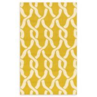 Loloi Rugs Venice Beach 2'2 x 3'9 Indoor/Outdoor Accent Rug in Goldenrod