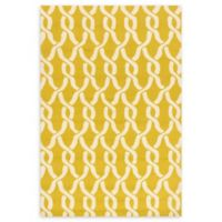 Loloi Rugs Venice Beach 5' x 7'6 Indoor/Outdoor Area Rug in Goldenrod