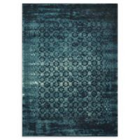 Loloi Rugs Journey Trellis 5' x 7'6 Area Rug in Indigo/Blue