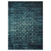 Loloi Rugs Journey Trellis 7'6 x 10'5 Area Rug in Indigo/Blue