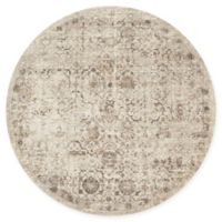Loloi Rugs Century 7'7 Round Area Rug in Sand