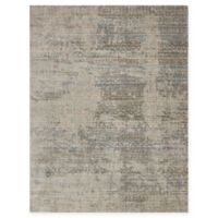 Loloi Rugs Javari Abstract 2'6 x 4' Accent Rug in Ivory/Sea