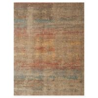 Loloi Rugs Javari Abstract 6'7 x 9'4 Area Rug in Smoke/Prism
