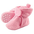 Luvable Friends® Size 0-6M Scooties Fleece Booties in Light Pink
