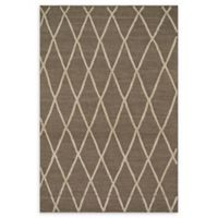 Loloi Rugs Addler Lattice 5' x 7'6 Area Rug in Taupe