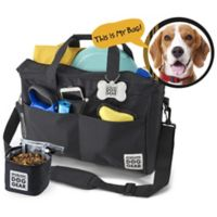 Overland Dog Gear Day Away Tote Bag in Black