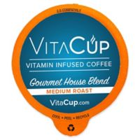 VitaCup 16-Count Gourmet House Blend Coffee Pods