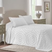 Nostalgia Home™ Eden Chenille King Bedspread in White