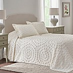 Nostalgia Home™ Eden Chenille Twin Bedspread in Ivory
