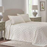 Nostalgia Home™ Eden Chenille King Bedspread in Ivory