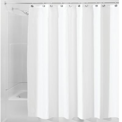 Buy White Shower Curtain Liner Fabric from Bed Bath & Beyond