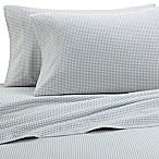 The Seasons Collection® HomeGrown™ Houndstooth Flannel Queen Sheet Set in Grey