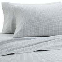 The Seasons Collection® HomeGrown™ Houndstooth Flannel Twin Sheet Set in Grey