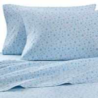 The Seasons Collection® HomeGrown™ Holly Flannel Standard Pillowcases in Blue (Set of 2)
