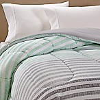 Equip Yor Space Toby Reversible Twin/Twin XL Comforter in Aqua