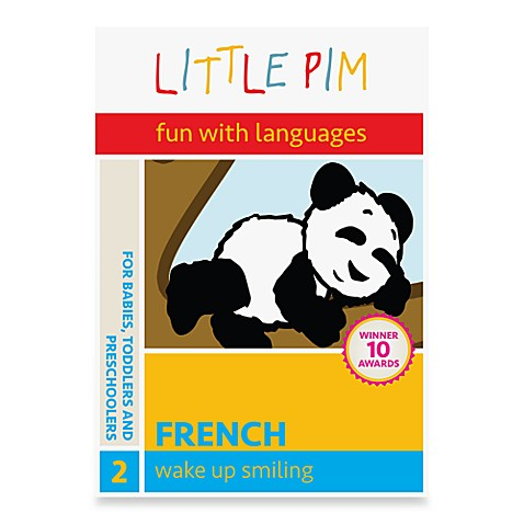 Little Pim® Fun with Languages Waking Up DVD in French
