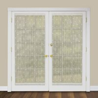 Heritage Lace® Bee 72-Inch Rod Pocket Door Panel in Ecru