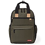 Skip*Hop® Duo Diaper Backpack in Olive