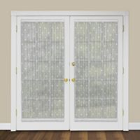 Heritage Lace® Bee 72-Inch Rod Pocket Door Panel in White