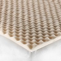 Equip Your Space® Foam Twin/Twin XL Mattress Topper in Tan
