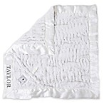 Zalamoon Plush Security Blanket in White