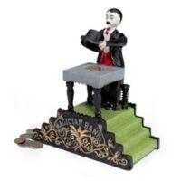 Design TOSCANO® Magician Cast Iron Mechanical Bank