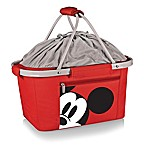 Picnic Time® Disney® Mickey Mouse Metro Basket Cooler Tote in Red