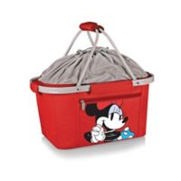 Picnic Time® Disney® Minnie Mouse Metro Basket Cooler Tote in Red