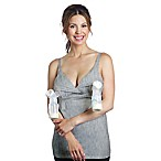 Rumina Hands-Free Pump & Nurse Essential Small Nursing Tank in Heather Grey