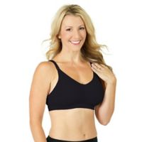 Rumina Large Seamless Pump & Nurse Nursing Bra in Black
