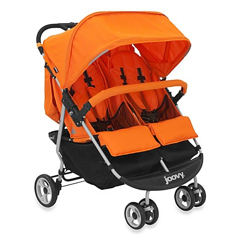 Joovy® ScooterX2 Double Stroller in Orange