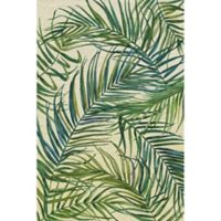Marmont Hill Palm Leaves on Sunday 45-Inch x 30-Inch Canvas Wall Art