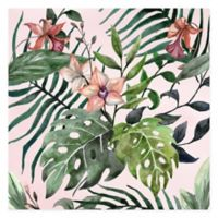 Marmont Hill Wild Foliage 12-Inch Squared Canvas Wall Art
