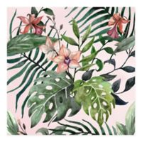 Marmont Hill Wild Foliage 24-Inch Squared Canvas Wall Art