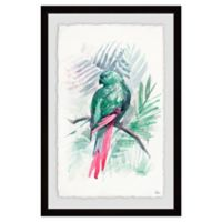 Marmont Hill Blissful Bird 18-Inch x 12-Inch Framed Wall Art