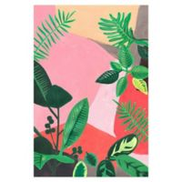 Marmont Hill Feuillage Fun 8-Inch x 12-Inch Canvas Wall Art