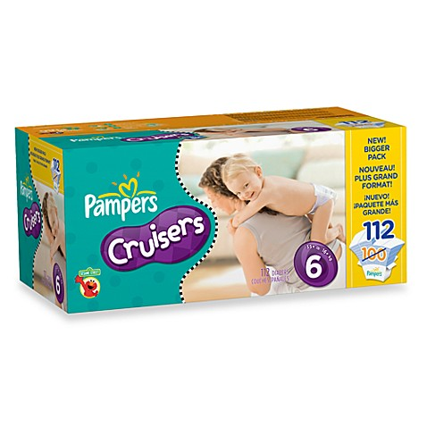 Pampers® Cruisers 112-Count Size 6 Diapers