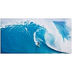 Wave Surfer 48-Inch x 24-Inch Canvas Wall Art
