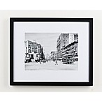 Historic Pictoric Main Street, Buffalo 18-Inch x 22-Inch Framed Wall Art