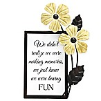 Fetco Home Decor™ 5.3-Inch x 8-Inch Everyday Inspiration Metal Wall Art