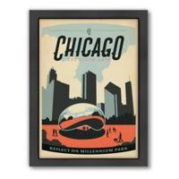 Americanflat Chicago Millenim Park Wall Art