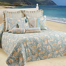 Natural Shells Bedspread 100 Cotton Bed Bath Amp Beyond