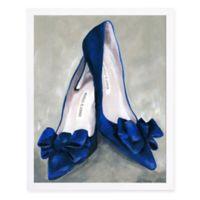 Haus of Arte Blue Mondays 11-Inch x 14-Inch Canvas Wall Art