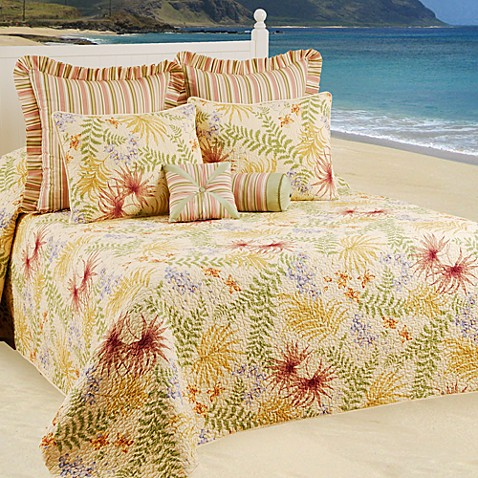 Fiji Bedspread Bed Bath Amp Beyond