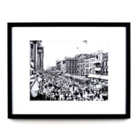 Historic Pictoric Labor Day Buffalo 22-Inch x 28-Inch Framed Wall Art